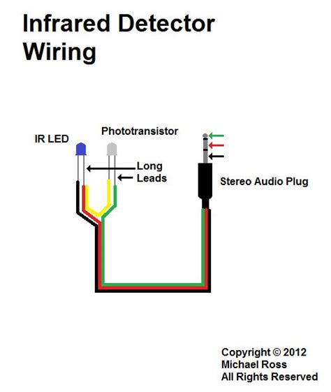 Samsung Galaxy Headphone Wiring Color by High Speed Trigger Infrared Detector Cable Wiring
