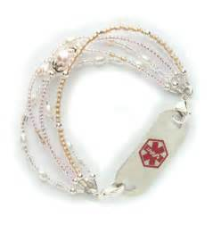 Medical Alert ID Bracelets for Women