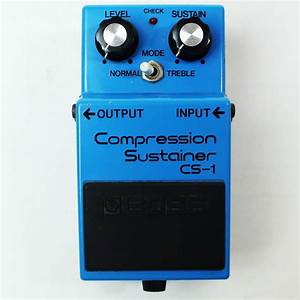 BOSS CS-1 COMPRESSION SUSTAINER EFFECTS PEDAL made in ...