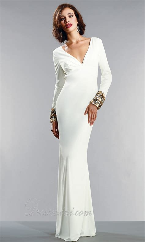 long white dress cheapcheap elegant evening dresses