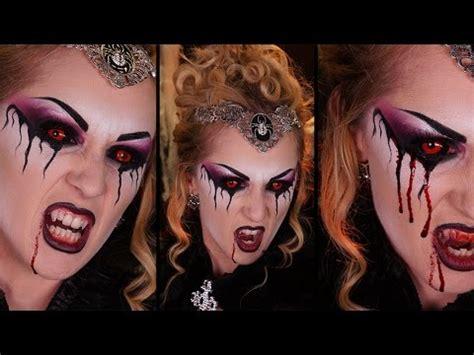 maquillage la reine des vires fabriquer et poser fausses dents de