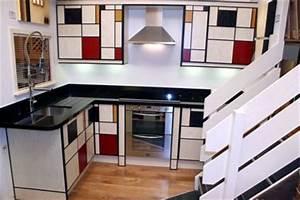 Plongez La Maison Dans L39univers De Mondrian