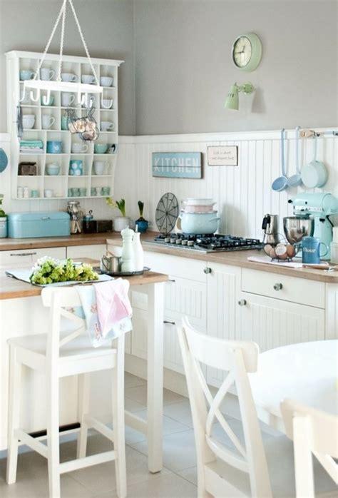 mint green kitchen decor 18 encantadoras cocinas decoradas en color pastel 7526