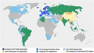 Free Trade Map | European Free Trade Association
