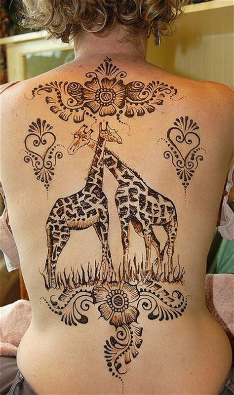 large  giraffes tattoo   tattoomagz tattoo