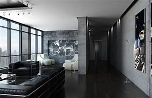 High Tech Apartment In St Petersburg By AlexLoft HomeAdore
