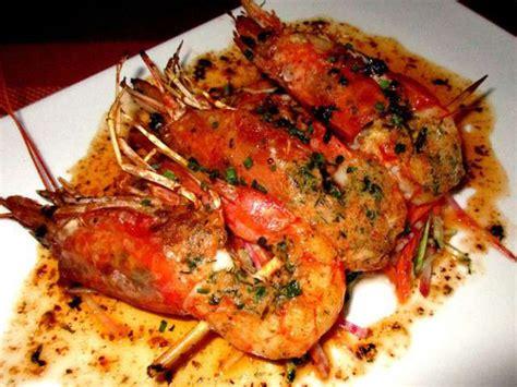 recettes de gambas  tomates