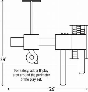 Good Time Tower Swing Set With Rock Wall  510