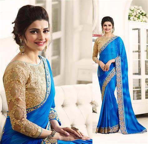 details  net saree designer sari indian woman