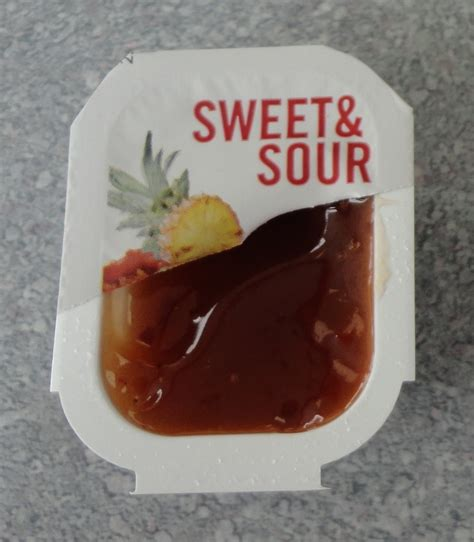 Burger King Sweet and Sour Sauce