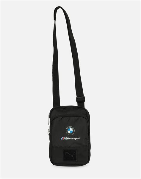 Mercedes amg petronas motorsport and puma are pushing the boundaries of innovation in sport and fashion. PUMA Bmw Motorsport Small Portable Bag in Black - Lyst
