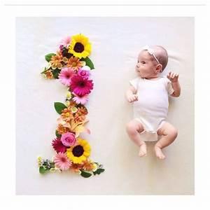 Ideas de sesion de fotos a bebés - mes a mes - Curso de