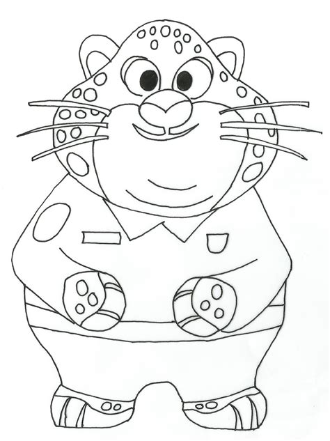 zootopia coloring pages coloring pages for