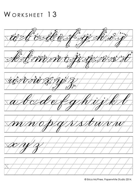 copperplate writing worksheet great worksheets for copperplate calligraphy