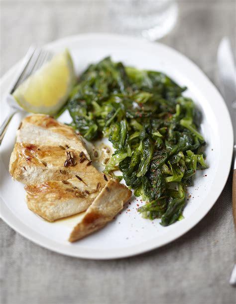 tablette recette de cuisine mâche sautée et poulet anisé pour 4 personnes recettes