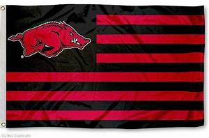 University of Arkansas Razorbacks Flag for Alumni Nation