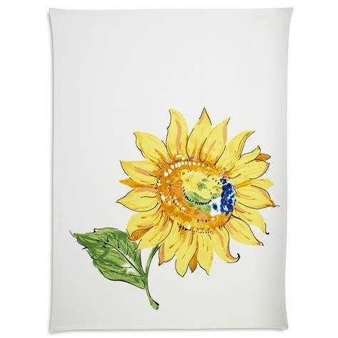 sur la table dish towels sunflower kitchen towel sur la table products i love