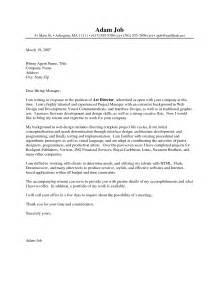 creative director resume cover letter creative cover letter sles template resume builder