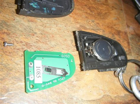 Key Fob Battery Replacement Write-up...faq