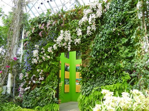 Vertical Gardens Nyc by Blanc Vertical Gardens At New York Botanical