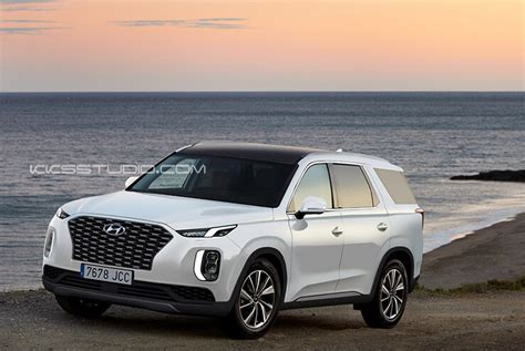 Hyundai Palisade Big Suv Imagined  The Korean Car Blog