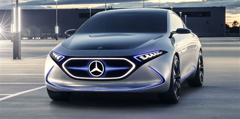 Mercedes-benz Eqa Concept Revealed, 'would Make Sense' For
