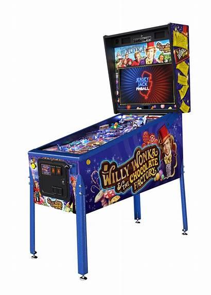 Pinball Wonka Willy Edition Limited Machine Cabinet