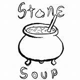 Soup Stone Coloring Pages Clipart Colouring Drawing Printable Story Many Clipartmag Tgchan Storytelling Club Thread Related Getdrawings Getcolorings Popular Azcoloring sketch template
