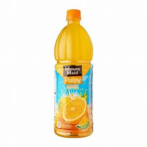 Minute Maid Pulpy Orange Juice 1.1 - from RedMart