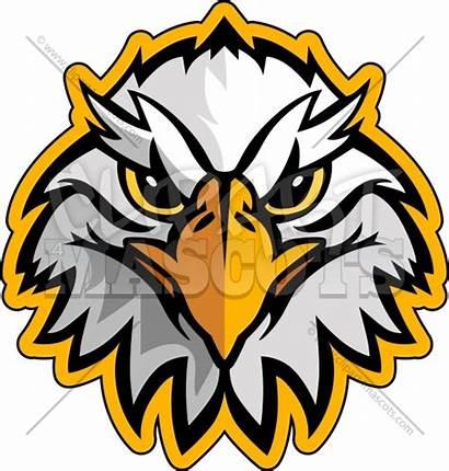 Eagle Head Mascot Clip Clipart Vector Unity