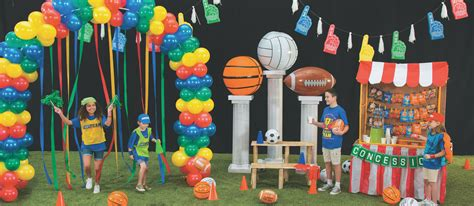 sports theme decorations  vbs decoration  home