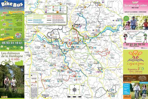 location de bureaux carte les châteaux de la dordogne à vélo périgord noir