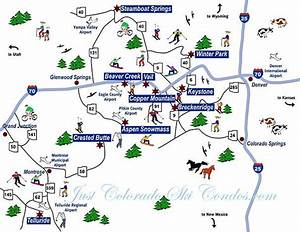 Colorado Springs Ski Resorts Map Colorado Ski Resorts Map