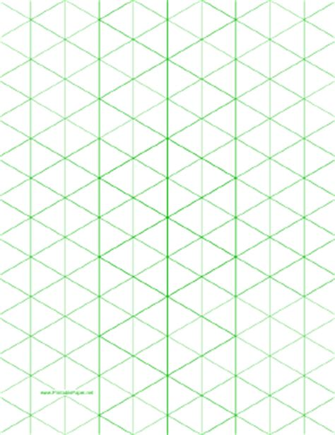 printable isometric graph paper    figures