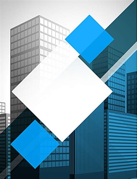 blue business flyer background material business card