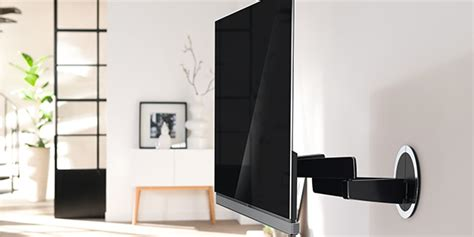 tv au mur pose murale tv et configuration smarttv darty services