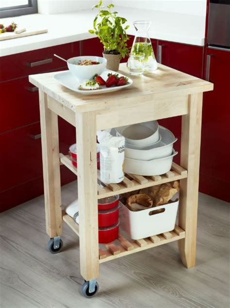 Ikea Bekvam Kitchen Island Cart by Bekv 196 M Kitchen Cart Birch Small Space Living Small