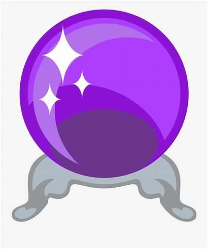 Crystal Ball Emoji Clipart Magic Svg Emojione