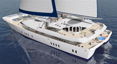 Largest Catamaran Yacht by Largest Ever Sailing Catamaran Yellow Finch Publishers