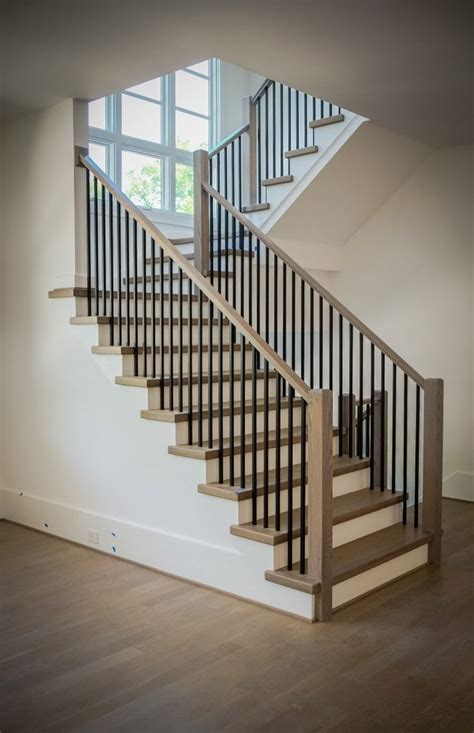 Mission-Style Staircase & Railings
