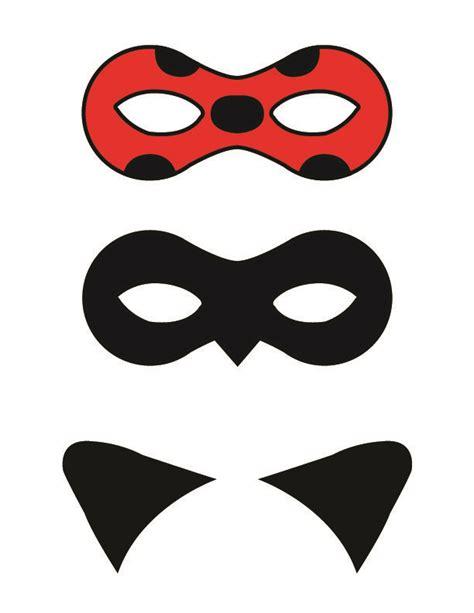 diy miraculous tales  ladybug  cat noir masks
