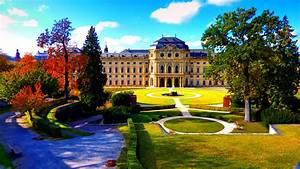 Garten Im Herbst : garten der residenz zu w rzburg im herbst foto bild deutschland europe bayern bilder auf ~ Watch28wear.com Haus und Dekorationen