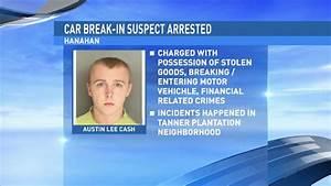 Suspect arrested in string of Hanahan car break-ins | WCIV