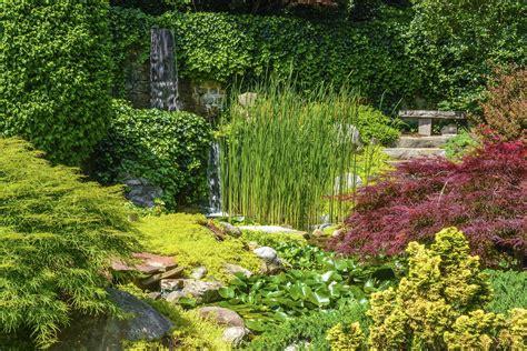 tips  creating  japanese garden garden greenhouse