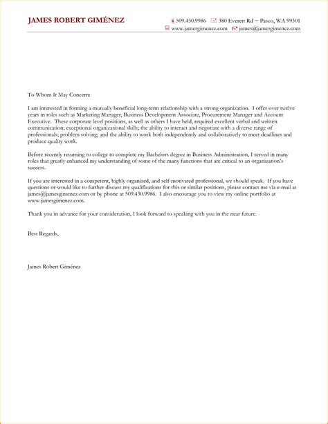 consulting cover letter template exle