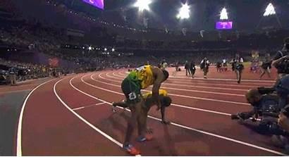 Bolt Usain Medal Gold Push Ups Olympics