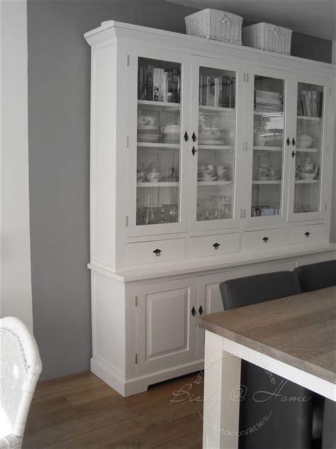 teak kast wit maken buffetkast wit wonen painted furniture pinterest