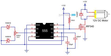 Speed Control Motor Using Pulse Width Modulation