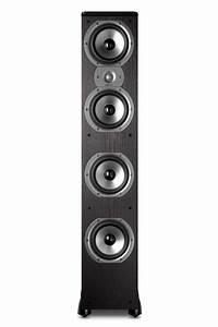 Polk Audio Tsi500 Floorstanding Speaker  Single  Black