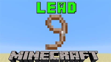 lead  minecraft  update youtube